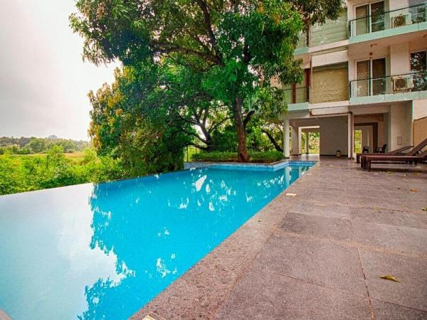 pool with view in candolim goa